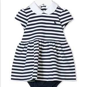 Ralph Lauren dress, 12 months, New!!